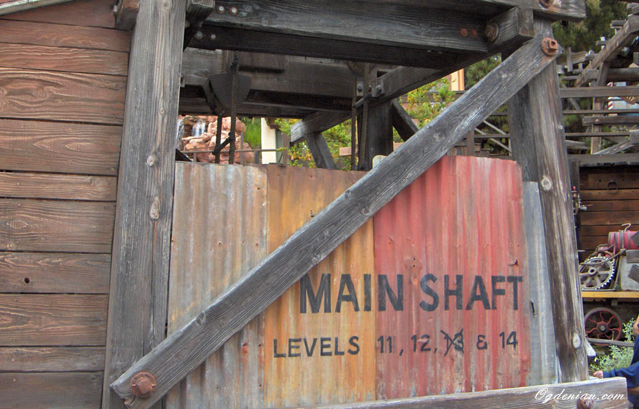 main-shaft